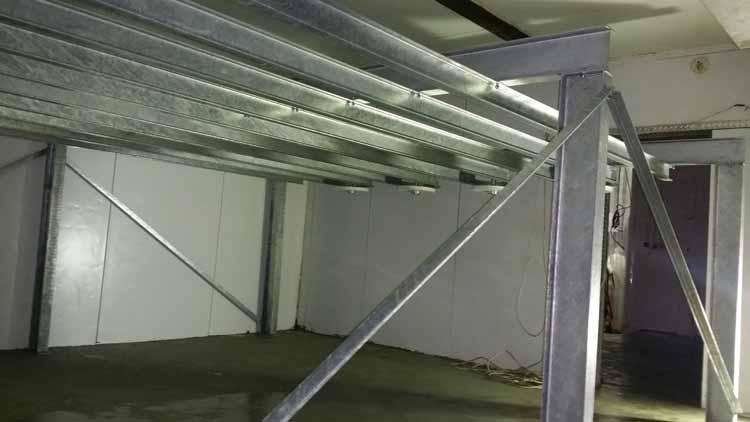 MPES Air Chiller 1000 Birds per Hour Installation 1