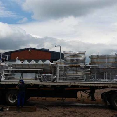 MPES Compact 4000 Line Loaded for Delivery
