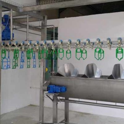 MPES Compact 4000 Line Spin Washer