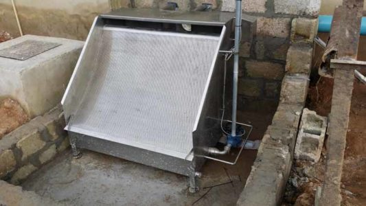 MPES Compact 4000 Line Waste Water Seperation Screen