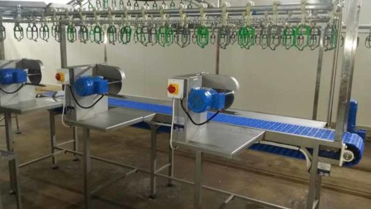MPES Drip Line-Cut Up Conveyors
