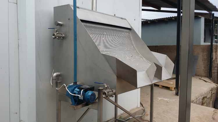 MPES Feather-Waste Water Seperation Screen