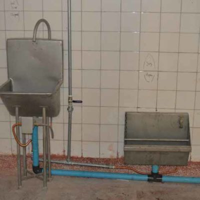 MPES Hygiene Station Hand & Boot Wash
